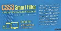 Smart css3 filter