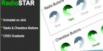Star pure css3 radio theme checkbox & star