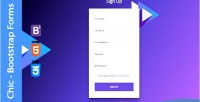 Bootstrap chic forms