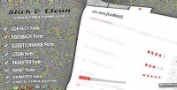 Clean css3 contact & pack forms register clean