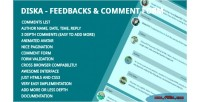 Feedbacks diska comment form