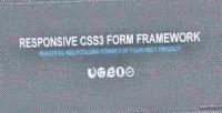 Form css3 framework