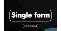 Form single animated fully