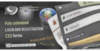 Forms moon login forms css registration