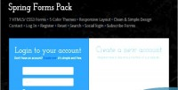 Forms spring pack