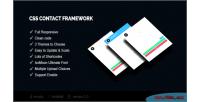 Framework contact css