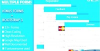 Html5 responsive forms 3 bootstrap with