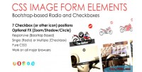 Image css form elements