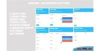 Multipurpose minform flat form