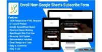 Now enroll google form subscribe spreadsheet