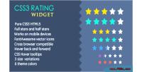 Rating css3 widget