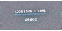 Sign login up forms