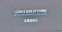 Sign login up forms
