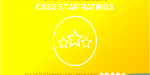 Soda cream ratings star css