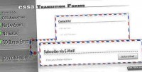 Transition css3 forms