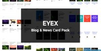 Blog eyex & pack card news