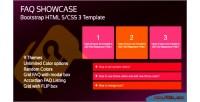Faq bootstrap showcase