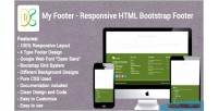 Footer my responsive footer bootstrap html