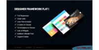 Framework designer flat i