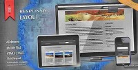 Html5 responsive css3 layout