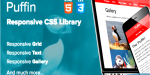 Responsive puffin css library
