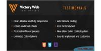 Showcase testimonial css3 & html5