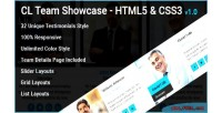 Team cl team element html showcase