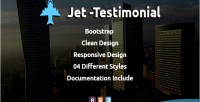 Testimonial jet