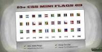 Css 85 mini flags
