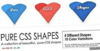 Css pure 1 vol. shapes
