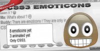Css3 pure emoticons