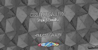 Flat css gallery