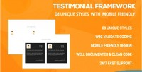 Framework testimonial