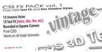 Fx css pack