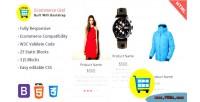 Grid ecommerce is a product multipurpose widget html showcase
