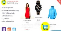 Grid ecommerce is a product multipurpose widget html showcase