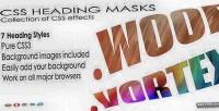Heading css masks
