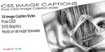 Image css captions pack