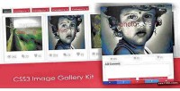Image css3 gallery kit