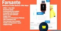 Multipurpose farsante product widget html showcase