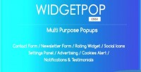 Multipurpose widgetpop ready templates popup made