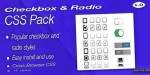 Radio checkbox css pack