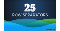 Row 25 css3 svg separators