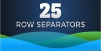 Row 25 css3 svg separators