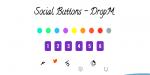 Social dropm buttons