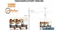 Story sample timeline