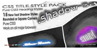 Styles heading pack