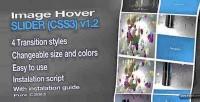 Thumbail image hover slider