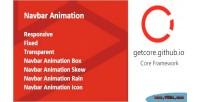 Animation navbar