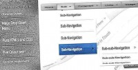 Bar chrome system navigation mega
